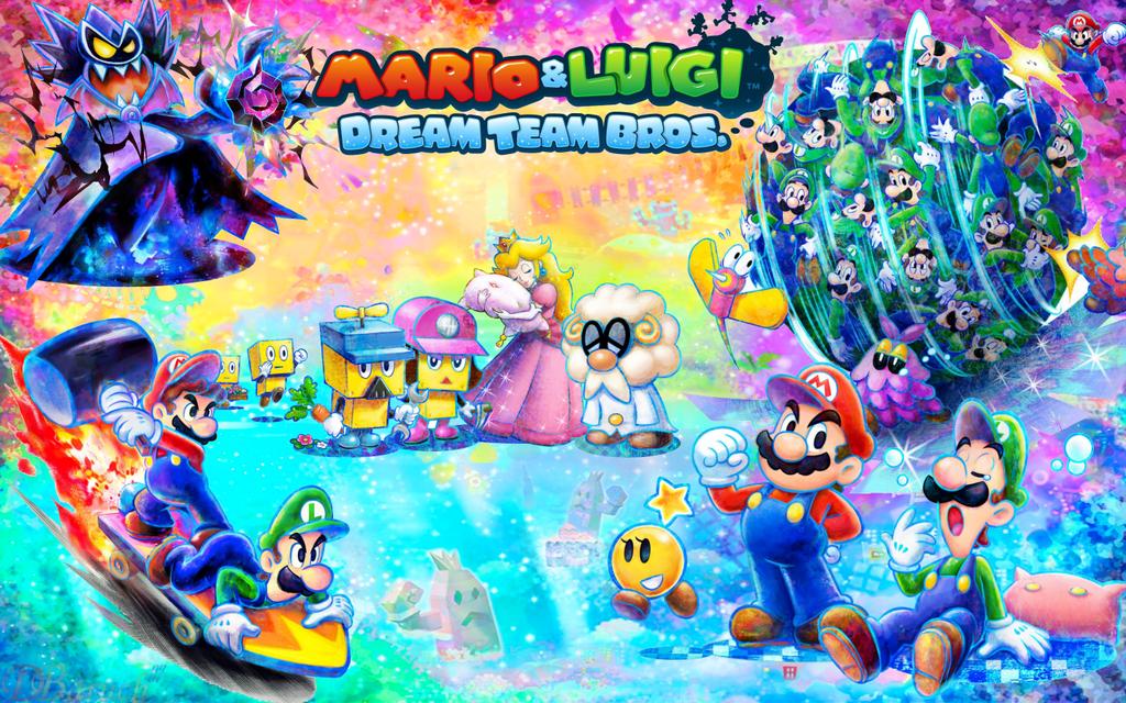 Mario And Luigi Dream Team Bros Test Summary Mario And Luigi