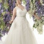 Callista Bride for the Fuller Figure - Sizes up to 32 - Now at Brides Visited Ashtead Surrey