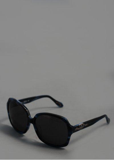 Vivienne Westwood Large Sunglasses - Black/Blue, SS13.
