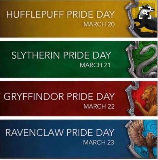 You know your Hufflepuff when Hufflepuff pride day is the day you were born..