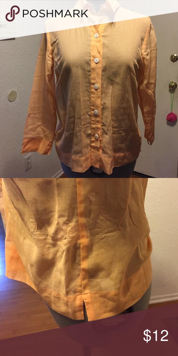 Woman shirt Very gentle woman shirt. 100% cotton. Sigrid Olsen Tops Button Down Shirts