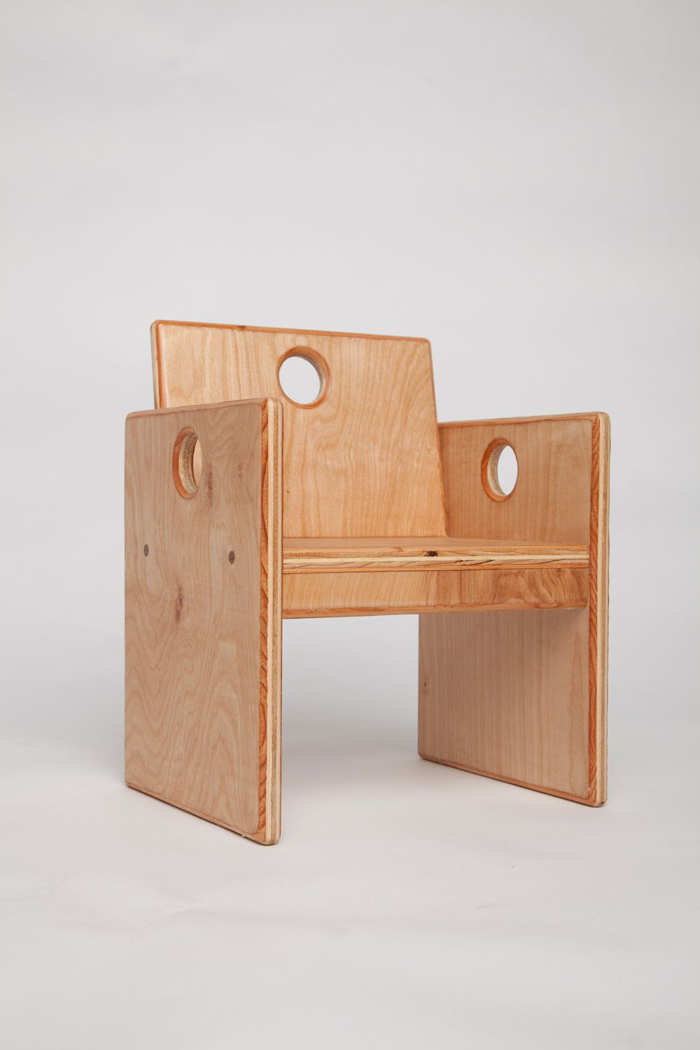 Wooden Toddlers Chair 57 00 From Steve Fast On Etsy