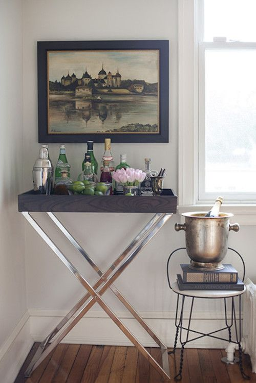 Butler Tray +Stand From West Elm U2014 Spotted On @Design*Sponge