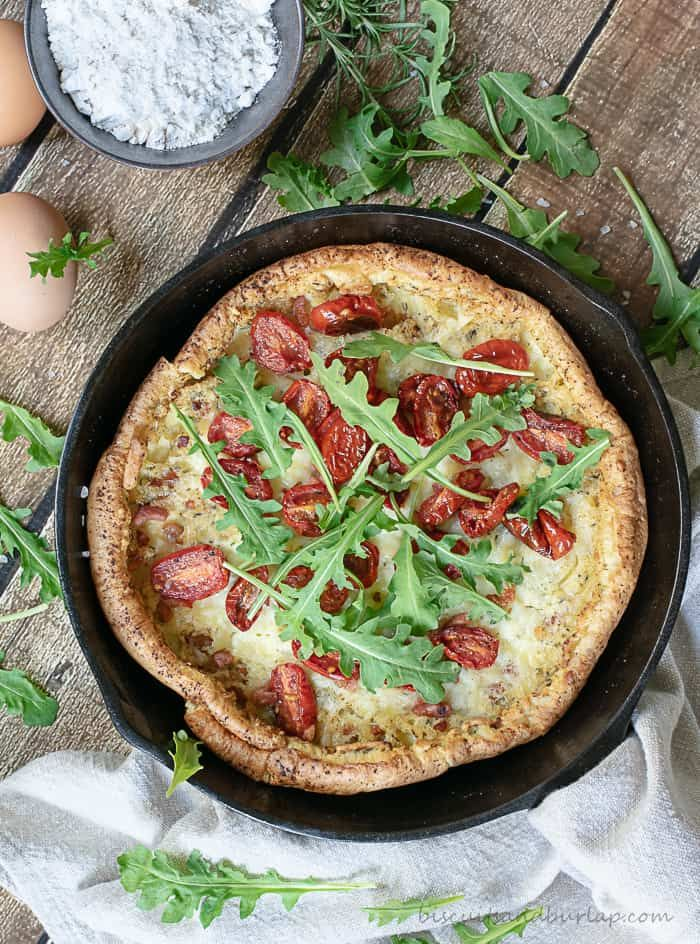 Savory Dutch Baby is Perfect for Brunch or Dinner ...