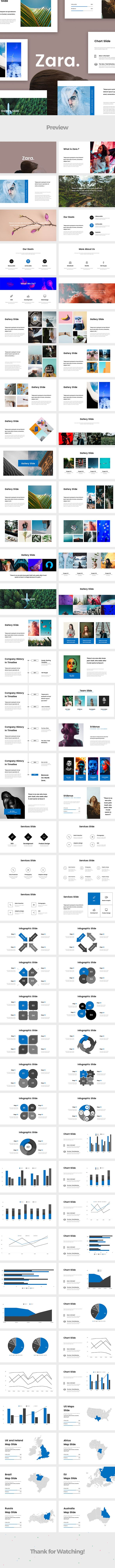 Zara powerpoint template presentation templates keynote and template zara powerpoint template toneelgroepblik Image collections