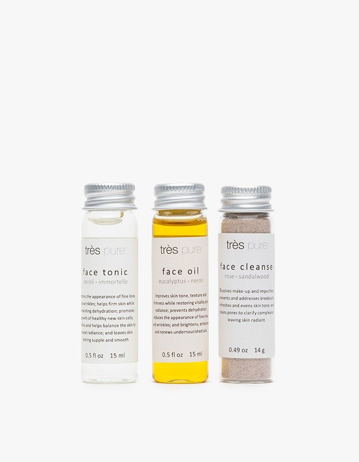 Tres Pure Mini Face Trio | Need Supply Co.