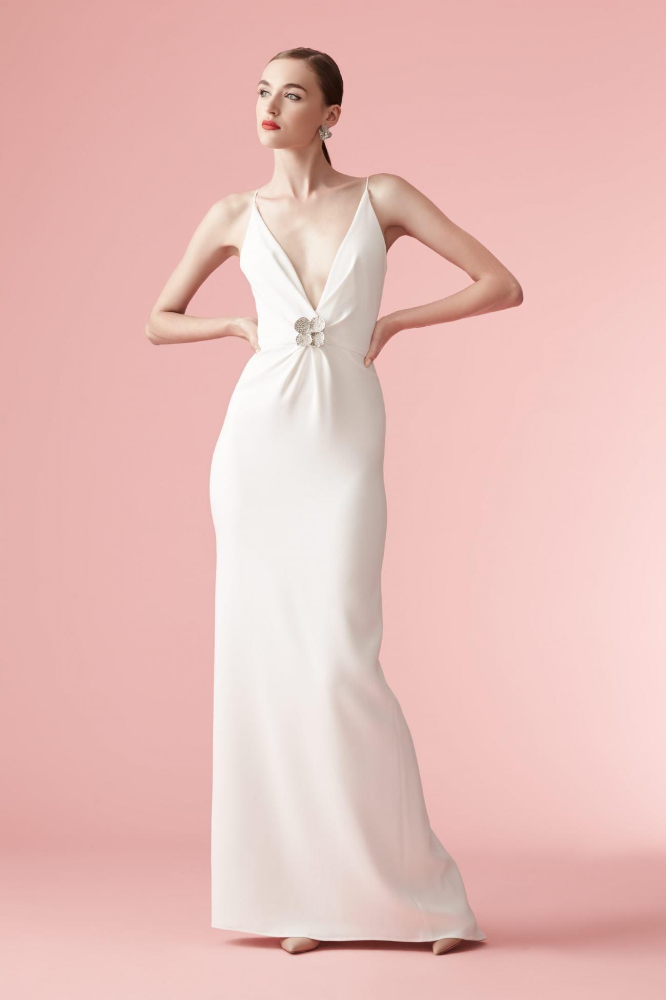 Hermosa Wedding Dresses Carolina Herrera Galería - Colección de ...