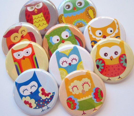 Buho-Owl-Hontza-Mussol por Maribel en Etsy