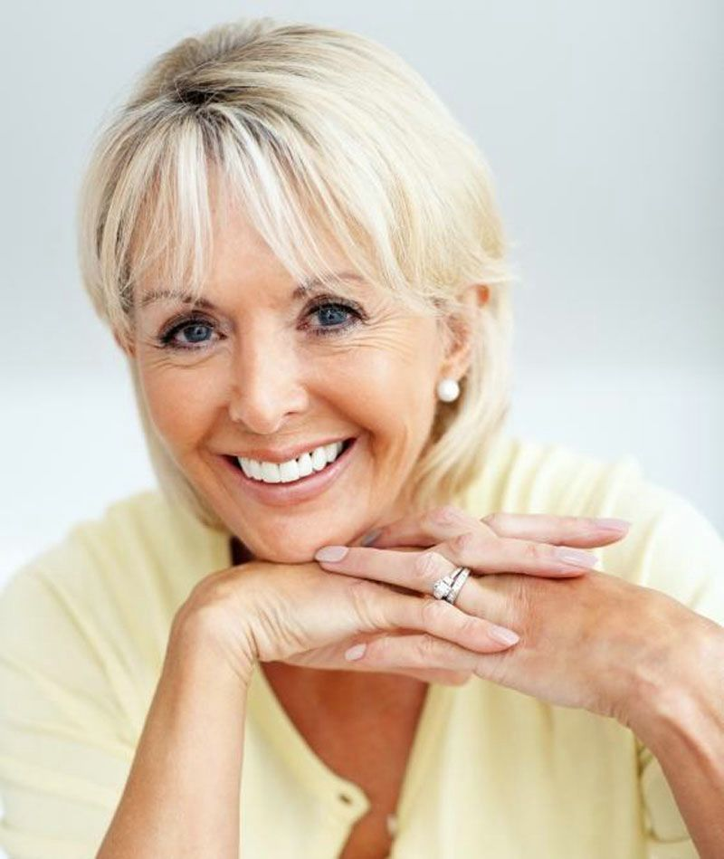 The Charm Of Short Hairstyles For Older Women With Fine Hair Picture