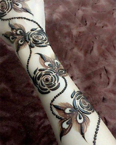 Top Rose Mehndi Designs Um Das Augenmerk Aller Augen Zu Sein Rose Mehndi Designs Full Mehndi Designs Floral Henna Designs