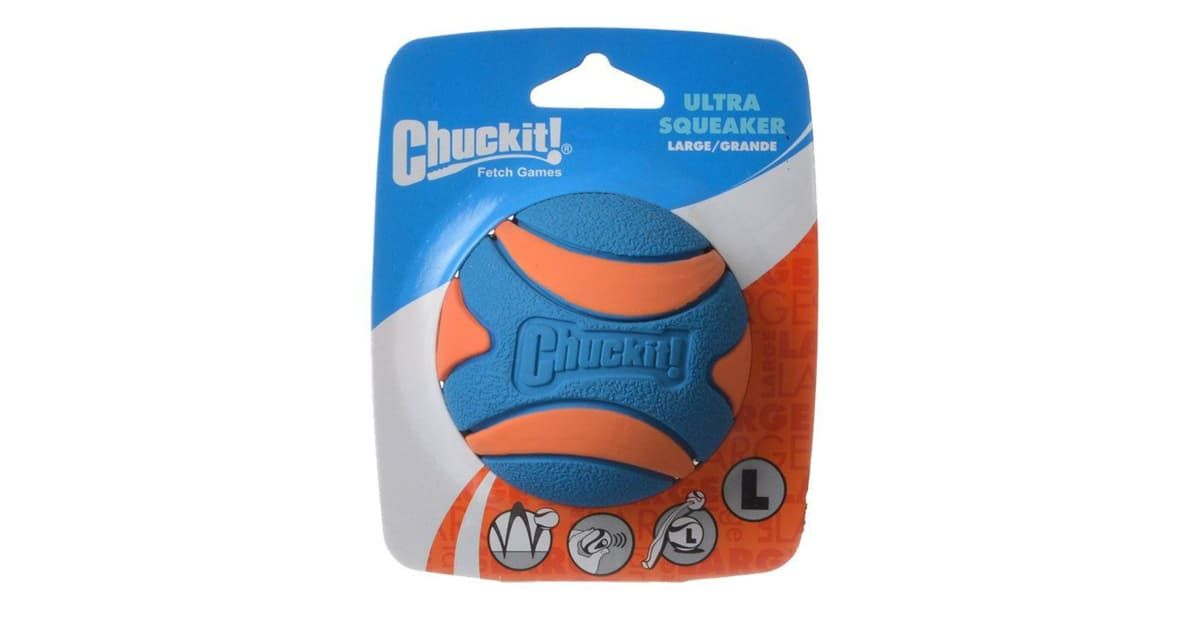 Chuckit Ultra Squeaker Ball Dog Toy 52068 Dog Toys Toys Dogs