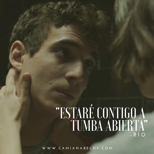 Frases En Imágenes De La Serie La Casa De Papel De Netflix