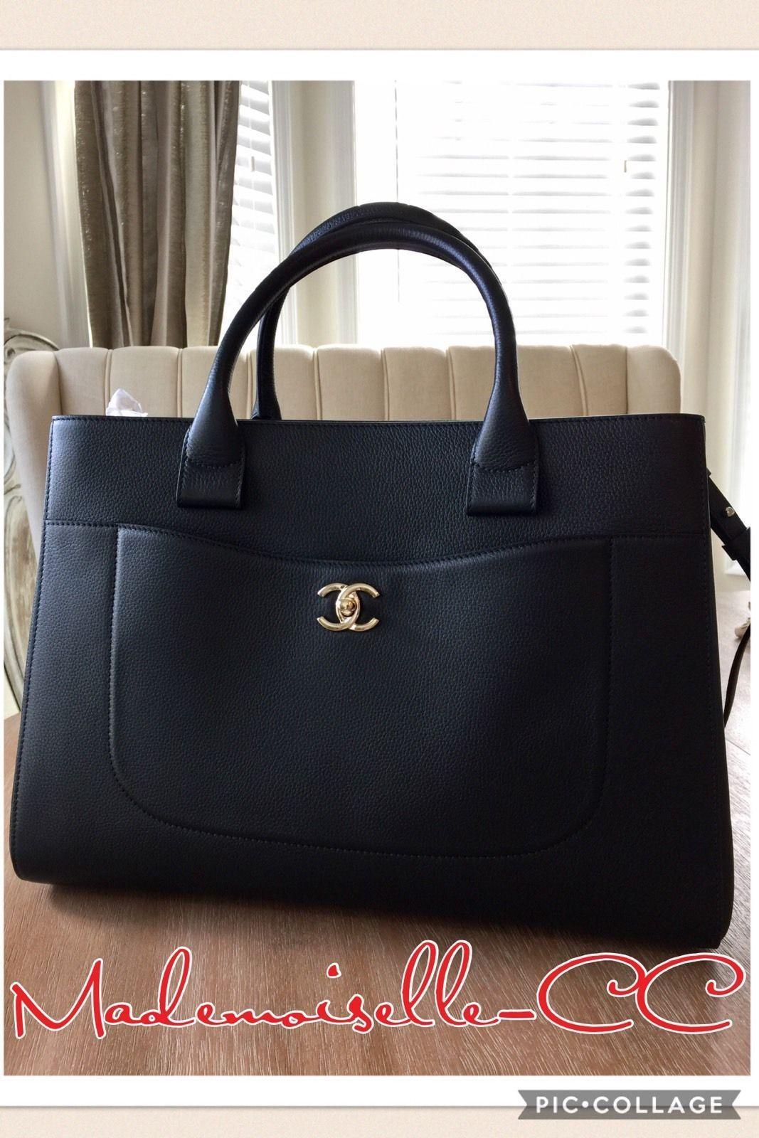 3989054f1d05 Chanel Black Executive Bag Shopping Tote Shoulder Bag Brand New 2017 Caviar  $5000.0