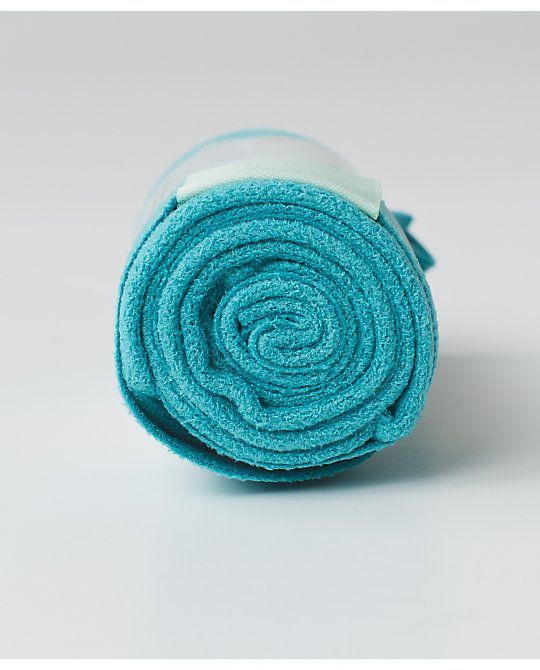 The Colour Edit: Peacock Blue. The (Small) Towel.