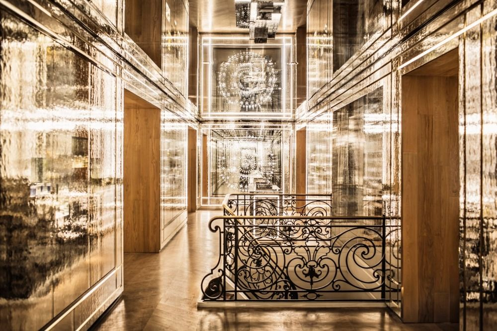 Interiors A High-Glam Parisian Perfumery Peter marino, Architects
