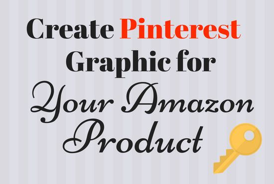 Check out this gig to I Will Create Pinterest Graphic For Your Amazon (or other) Products