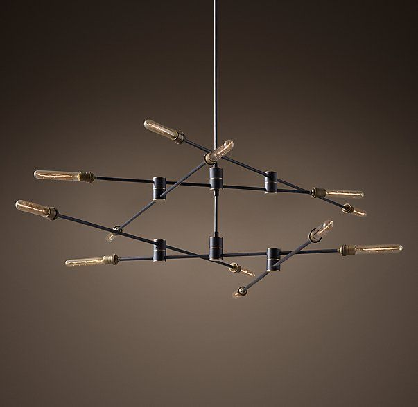 Kinetic 2 Tier Chandelier With Images