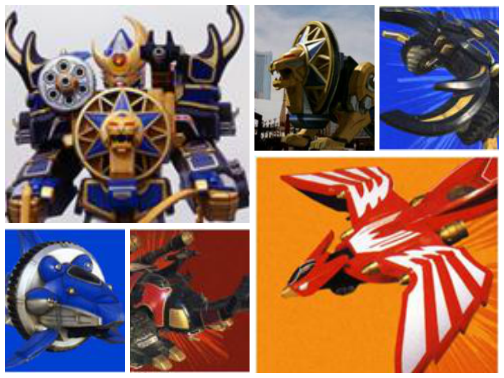 Ninja Storm Zords | Power Rangers Collages | Pinterest ...