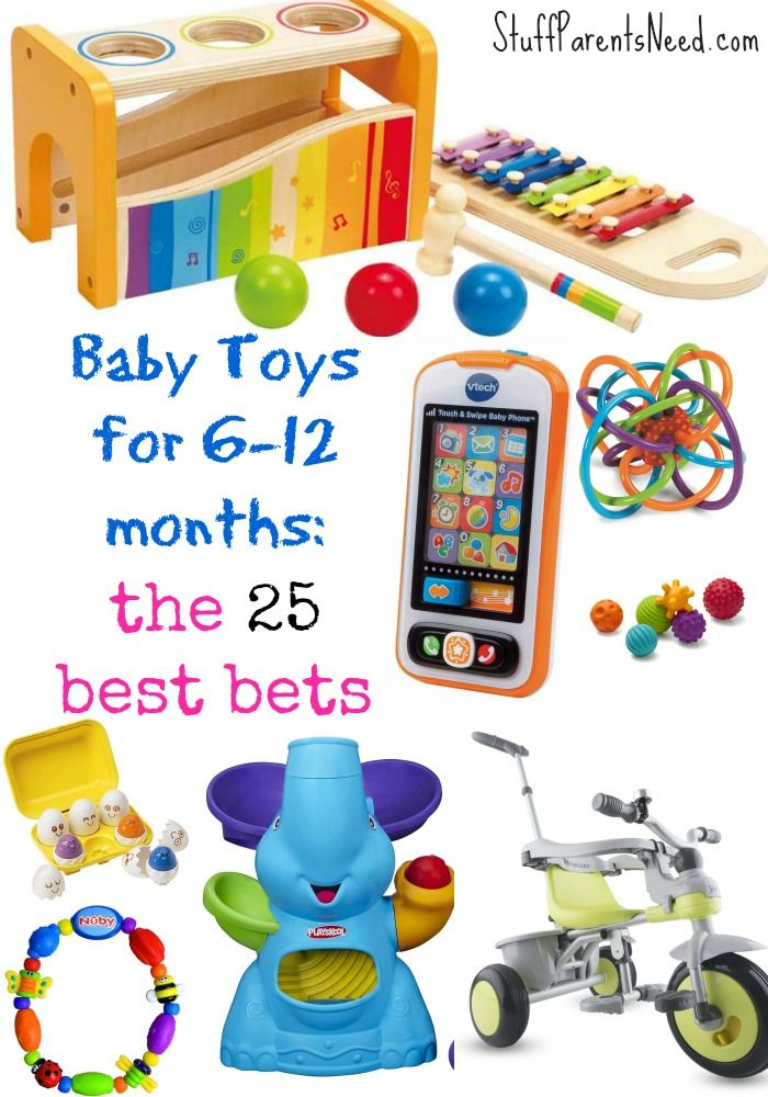 Baby Toys for 6-12 Months: 25 Best Bets | Baby boy toys ...