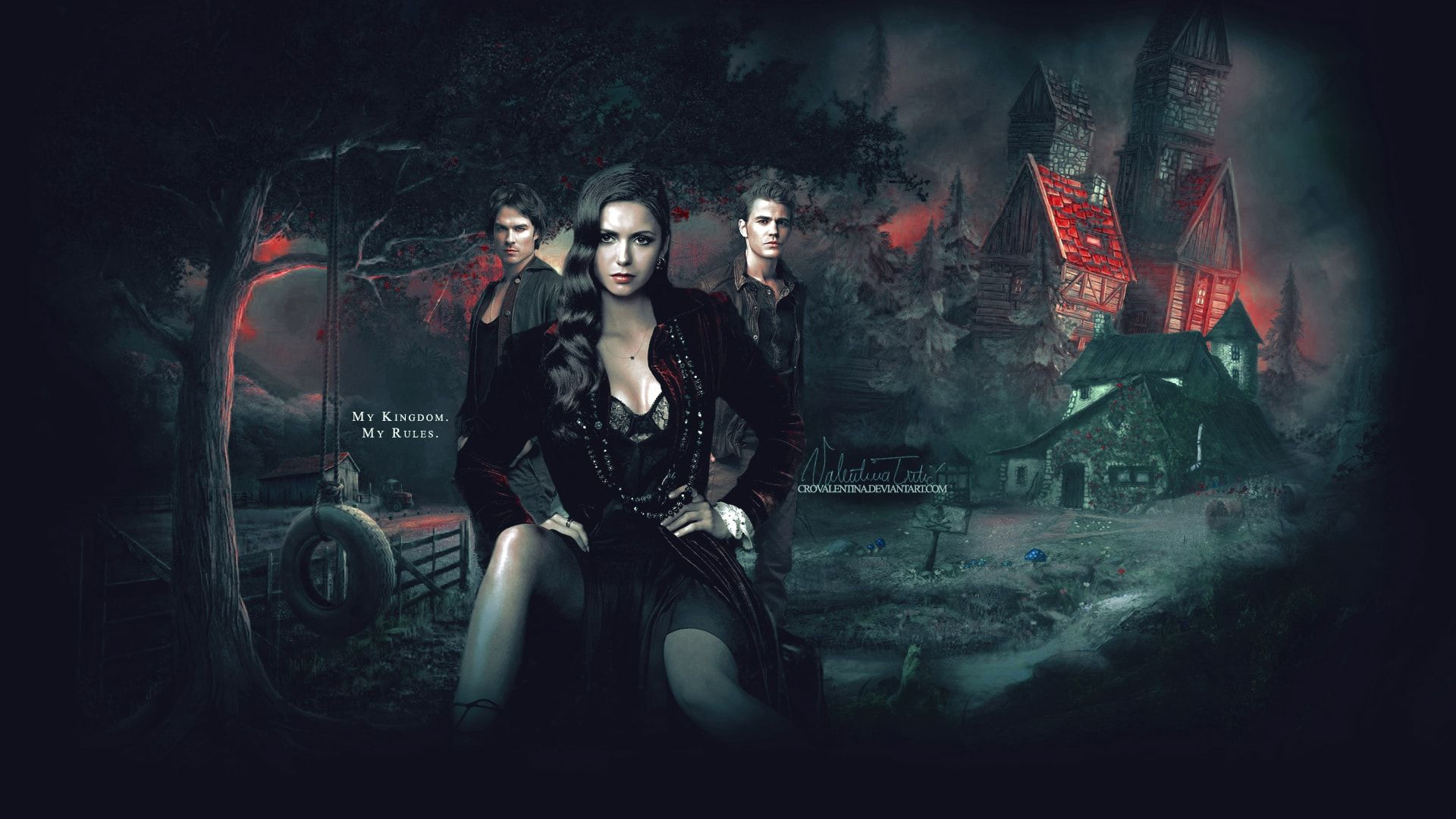 The Vampire Diaries Wallpaper Collection 2560×1440 The