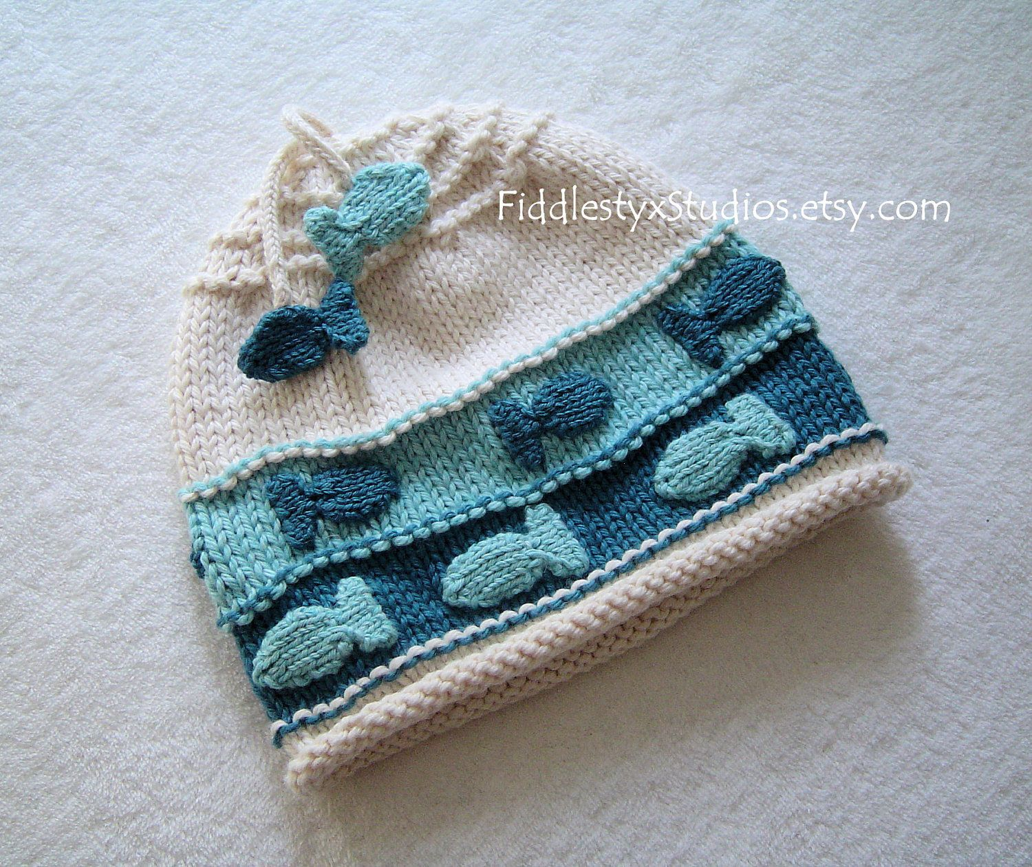 Eco friendly baby fish hat newborn boy photo prop teal cotton eco friendly baby fish hat newborn boy photo prop teal cotton knitted infant toddler cap hand bankloansurffo Choice Image