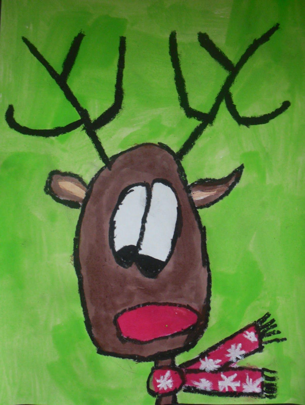 Artventurous Reindeer Portraits Revisited