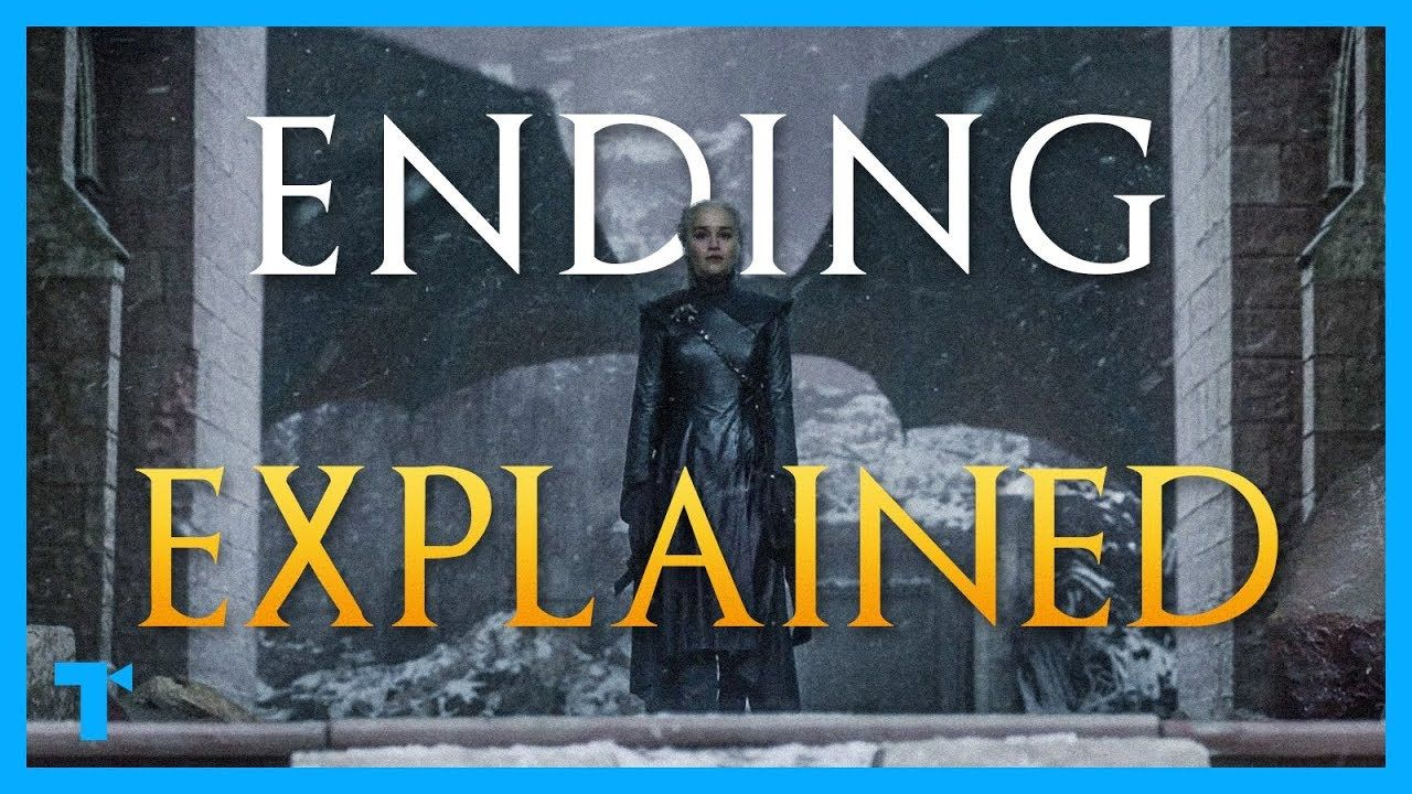 Game Of Thrones Ending Explained Part 1 The Downfall Of Daenerys Targa Game Of Thrones Ending Daenerys Targaryen Game Of Thrones