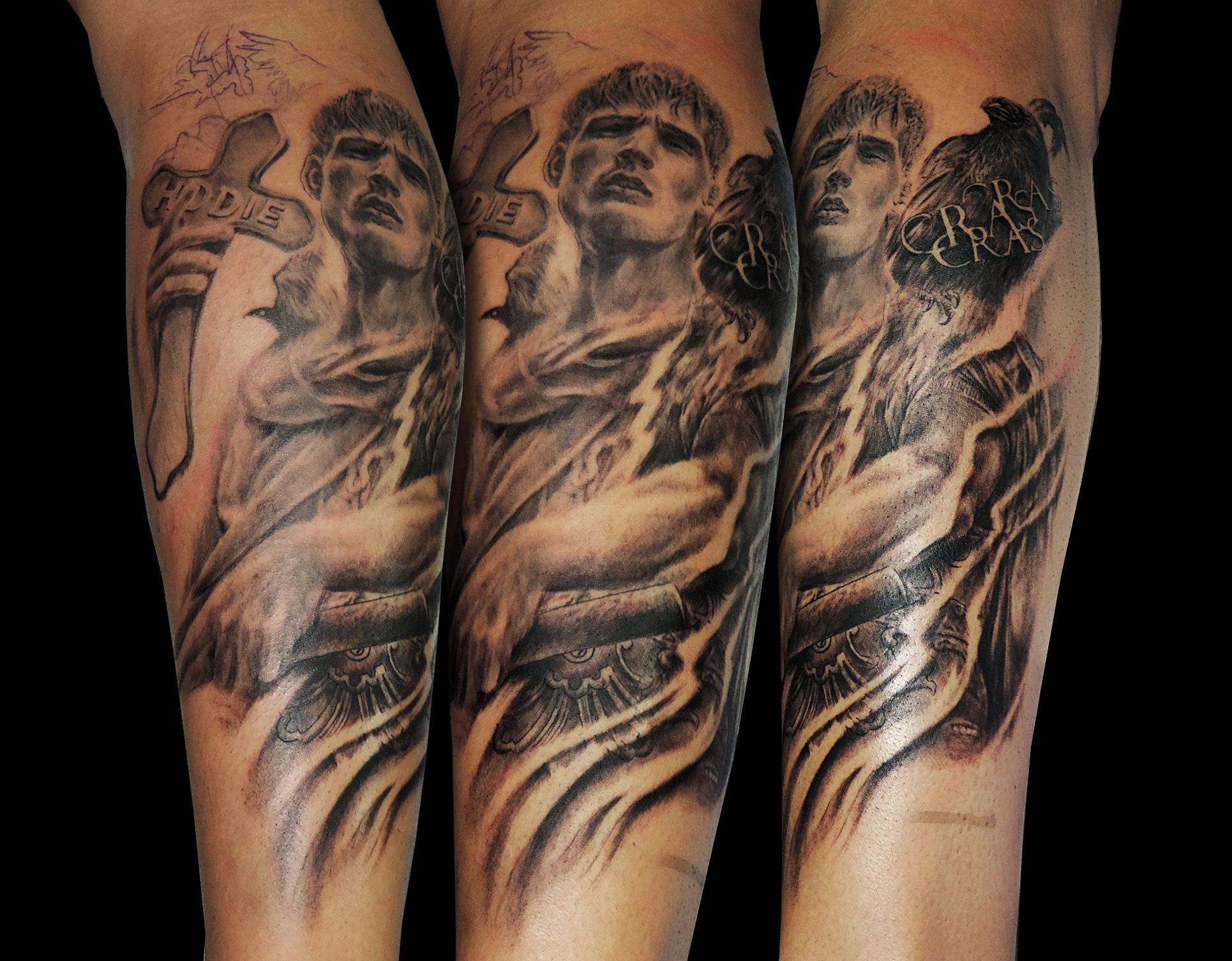 Saint Expedite Tattoo San Expedito Tattoo Sanexpedito Tattoos
