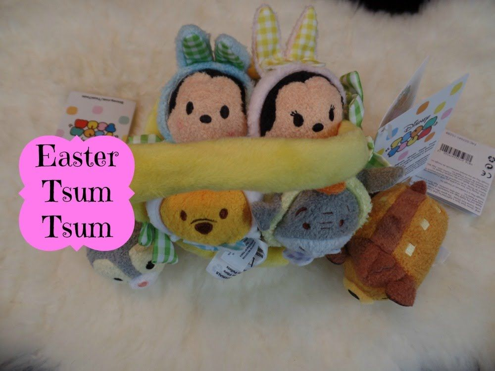 Easter Basket Tsum Tsum 2016 Easter Review