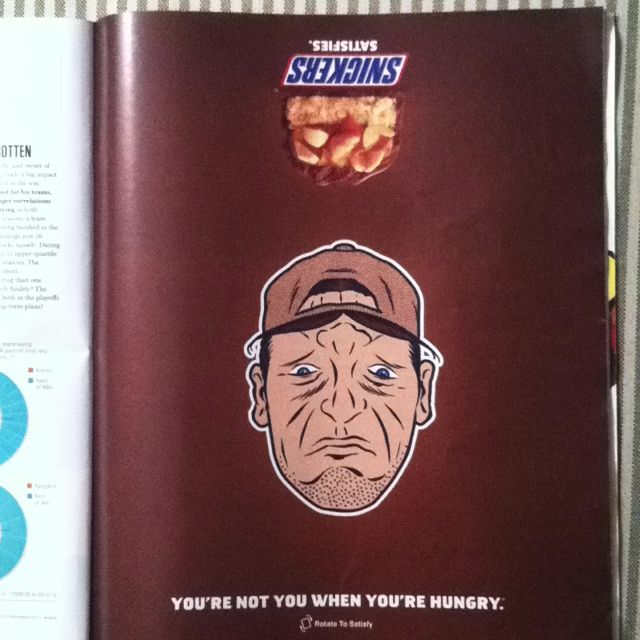 Snickers Ad - ESPNTheMag