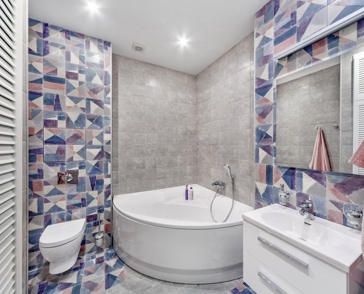 Re-tiling The Bathroom Is A Big Undertaking And Can Be
