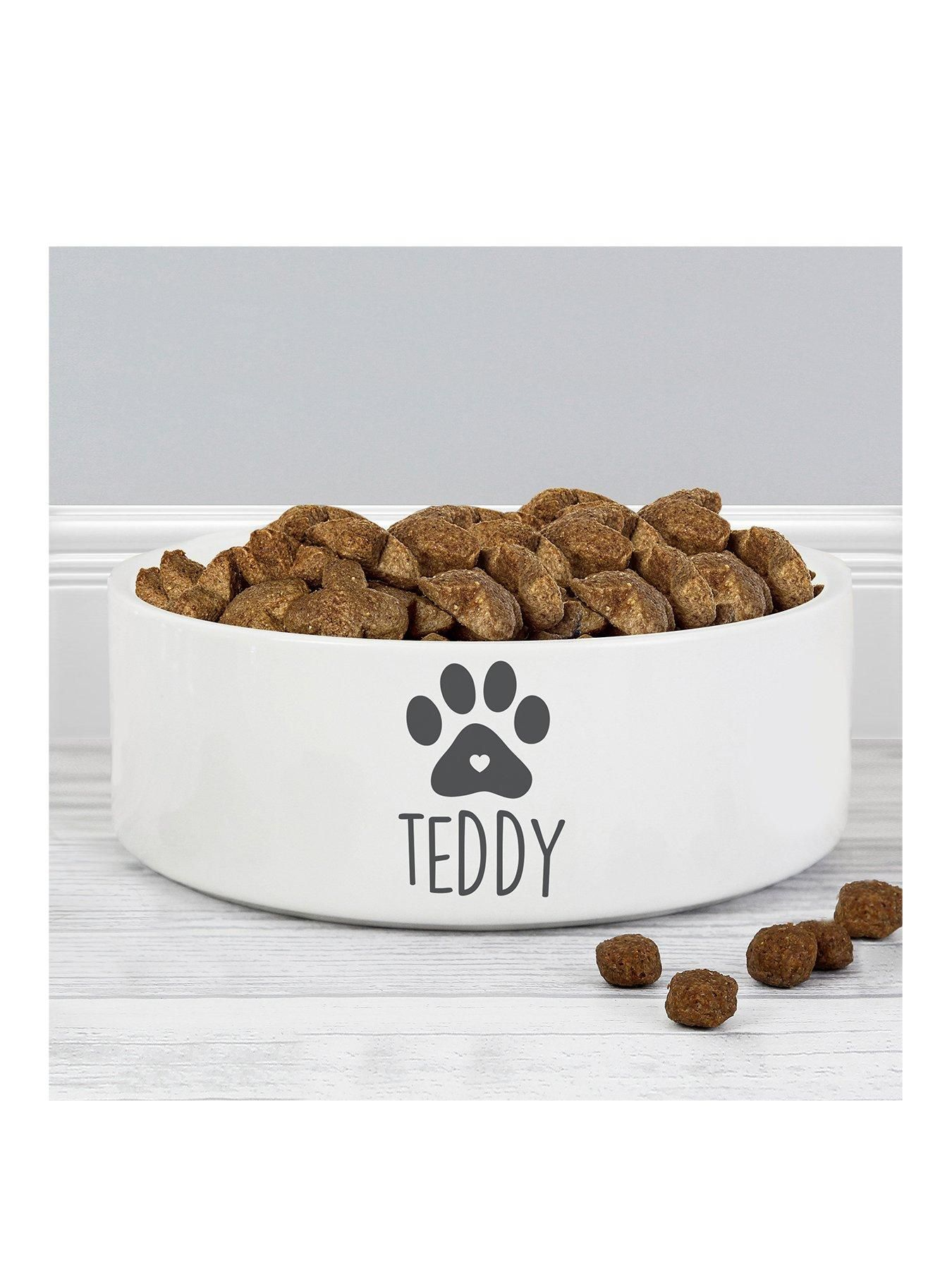 Personalised Dog Bowl In One Colour Dog Bowls Dog Food Bowls Dog Presents