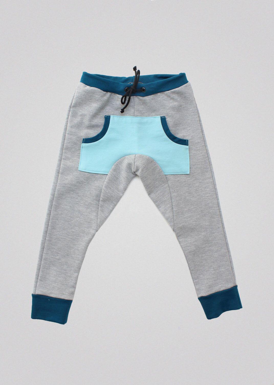 Kids baggy sweat pants PDF Sewing Pattern & Tutorial   Digital ...