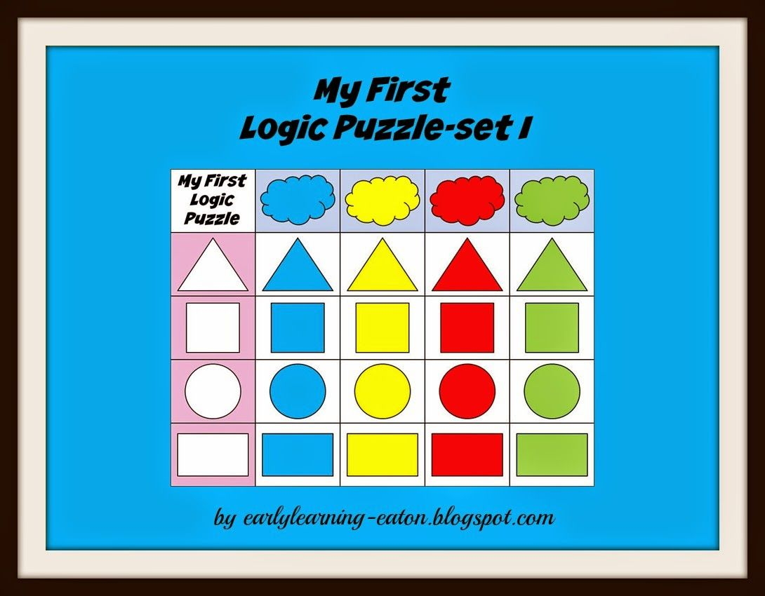 My First Logic Puzzle Set I