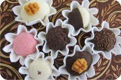 docinhos de feltro-variations of truffles you can make