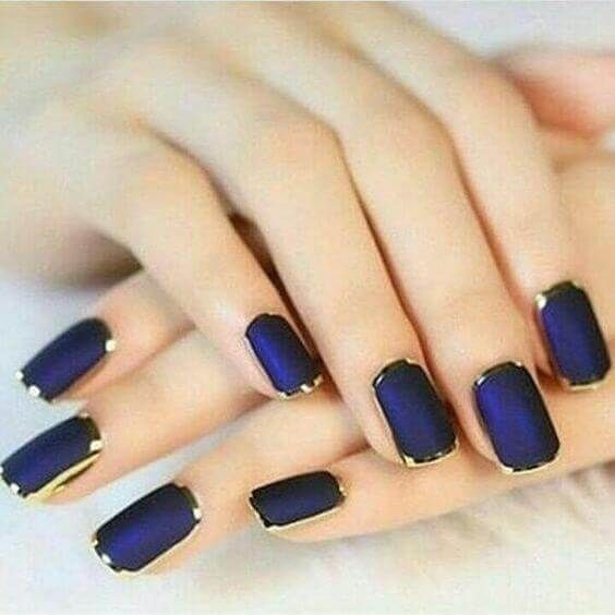 De 100 u as azules u as decoradas nail art - Unas azules decoradas ...