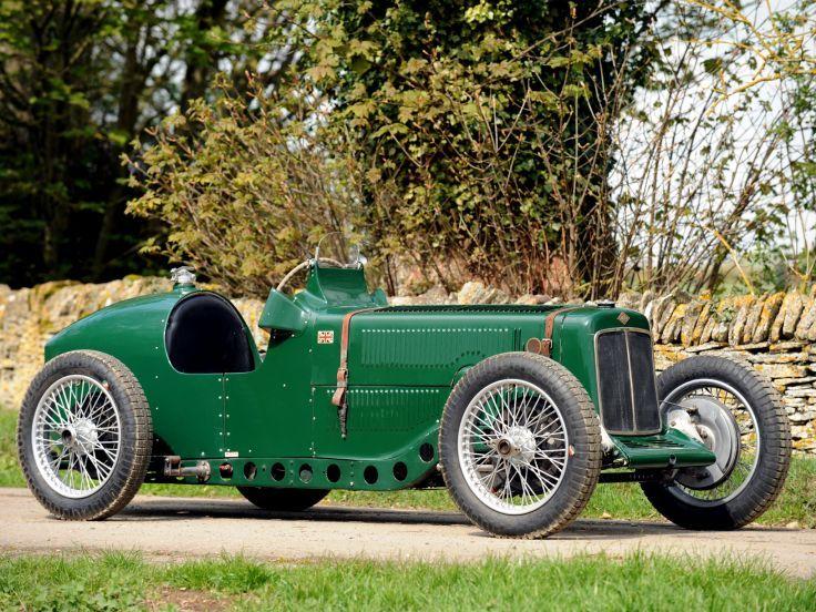 1928 Riley Brooklands 9-HP Bob Gerard Monoposto Special retro supercar race racing    e wallpaper background