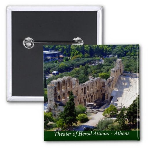 Theater of Herod Atticus - Athens Buttons