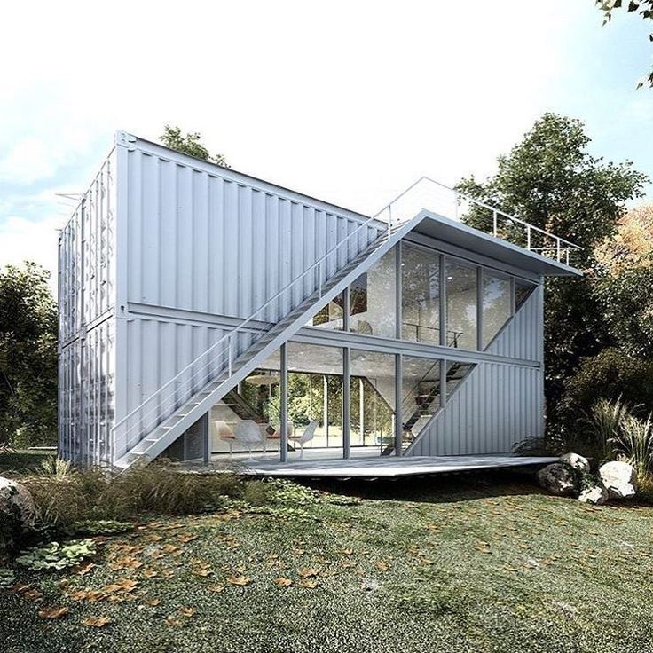 51 Stunning Modern Container House Design Ideas For Comfortable Life Every Day 42