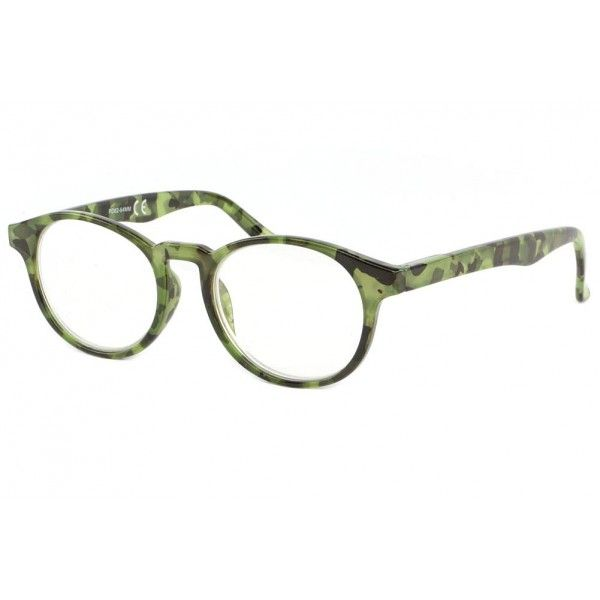 97950719f53b6b Belles lunettes loupe rondes retro monture vert kaki façon écailles Mauea,  lunettes de lecture vintage homme et femme collection New Time   lunettesloupe ...