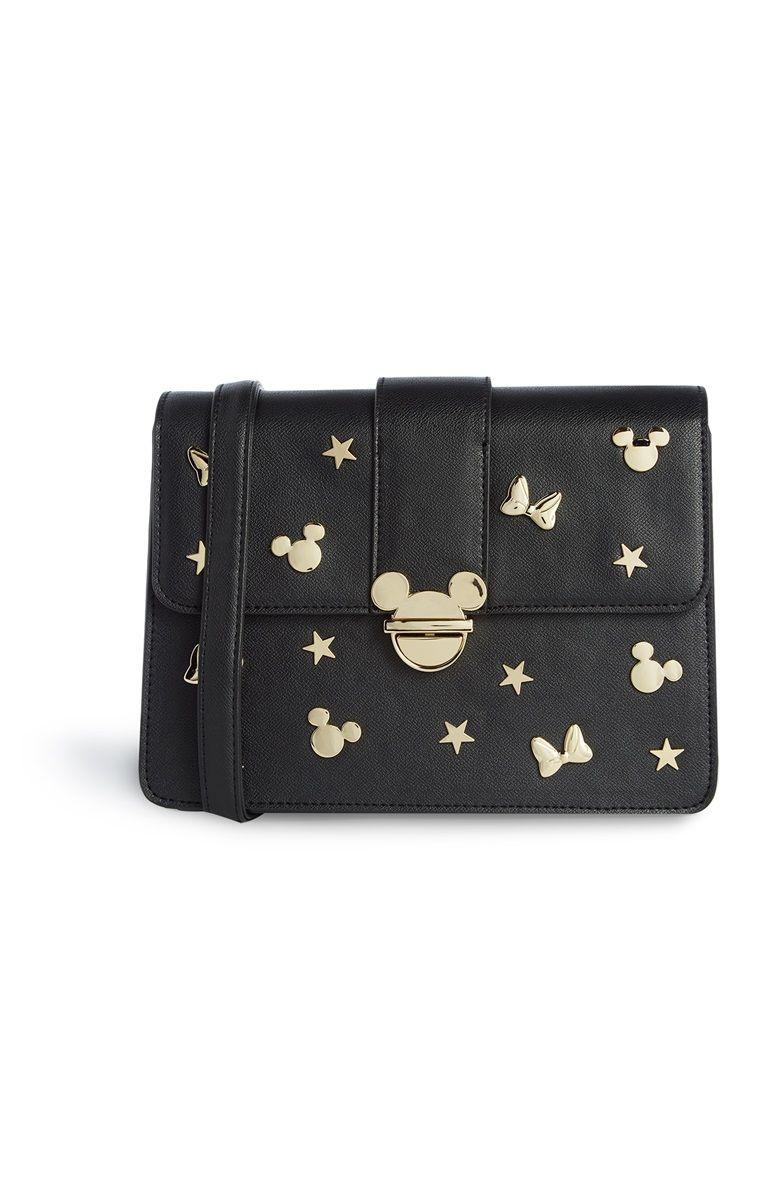 4b5d344b6 Primark - Zwarte tas Mickey Mouse | MIE's wishlist | Bolsos negros ...