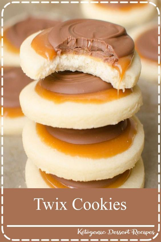 Twix Cookies Twix Cookies are a soft sugar cookie crust with a creamy caramel on top which is topped with milk chocolate This delicious cookie explodes with Twix flavor a...