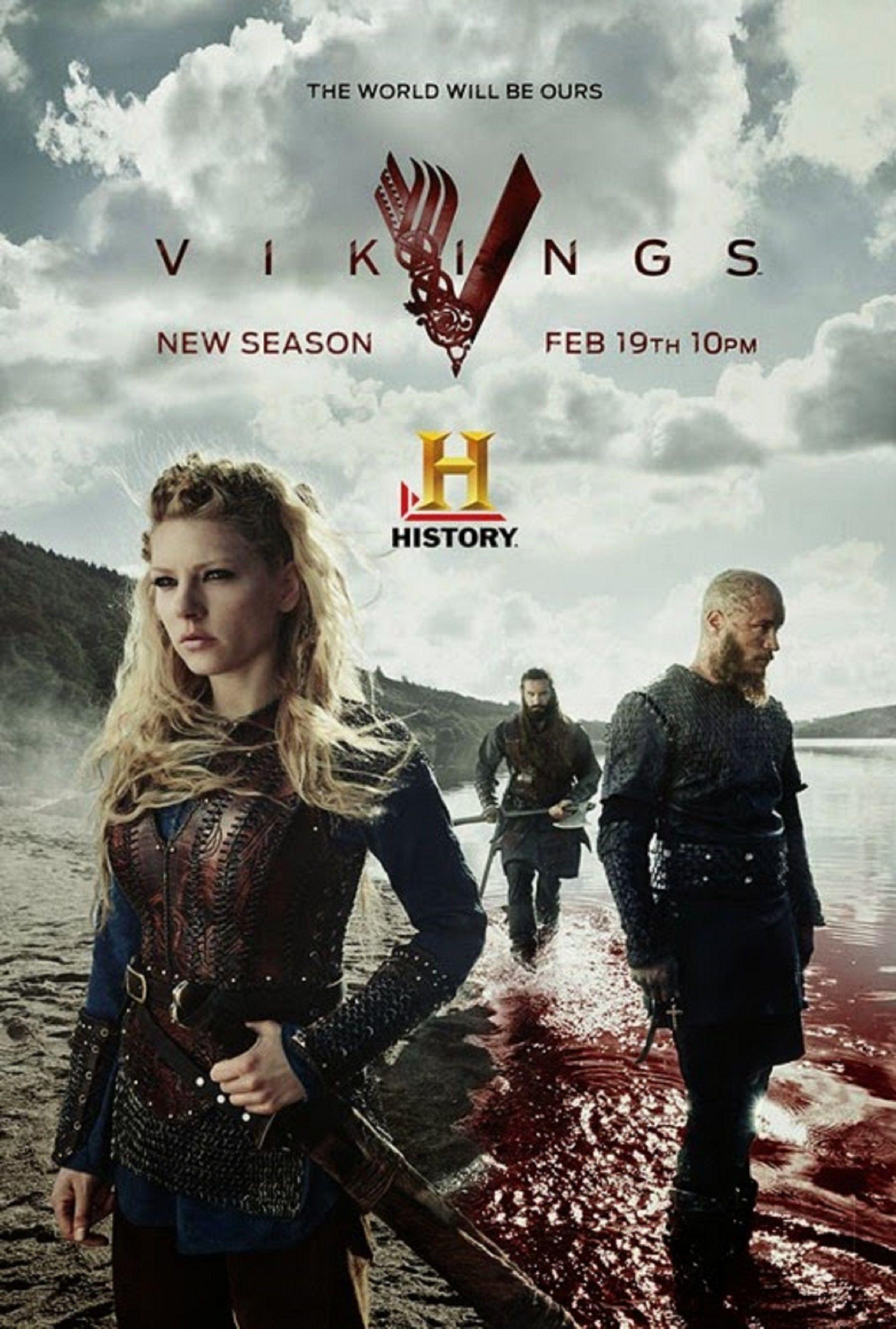 VIKINGS | season3 | #HistoryChannels | 2015