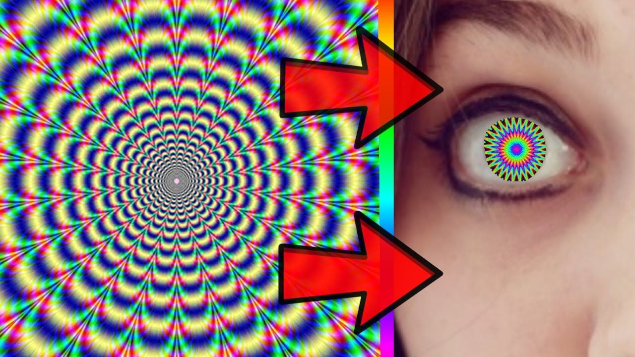 Crazy illusion can change your eye color 99 of peoples
