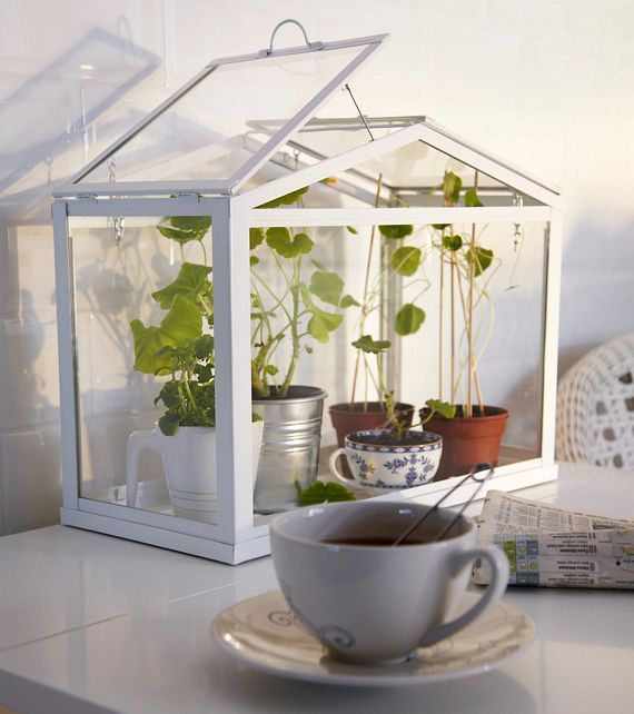IKEA Socker Is A Mini Greenhouse For Your Home, I Would Totally Use This Ideas