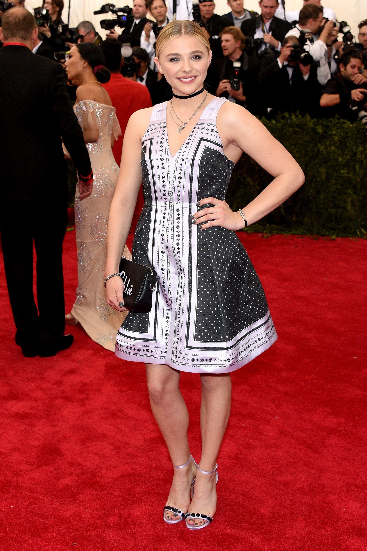 Chloe Moretz In New York Posh Point Met Gala Red Carpet Nice Dresses Fashion