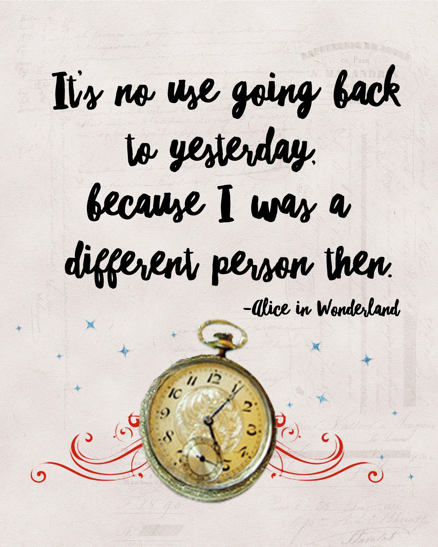 Alice In Wonderland Quote | Free Alice In Wonderland Quote Printables Alice In Wonderland