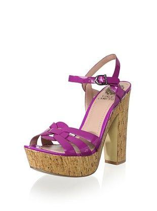 824882d423 60% OFF Vince Camuto Women s Donna Sandal (Cashmere Purple ...