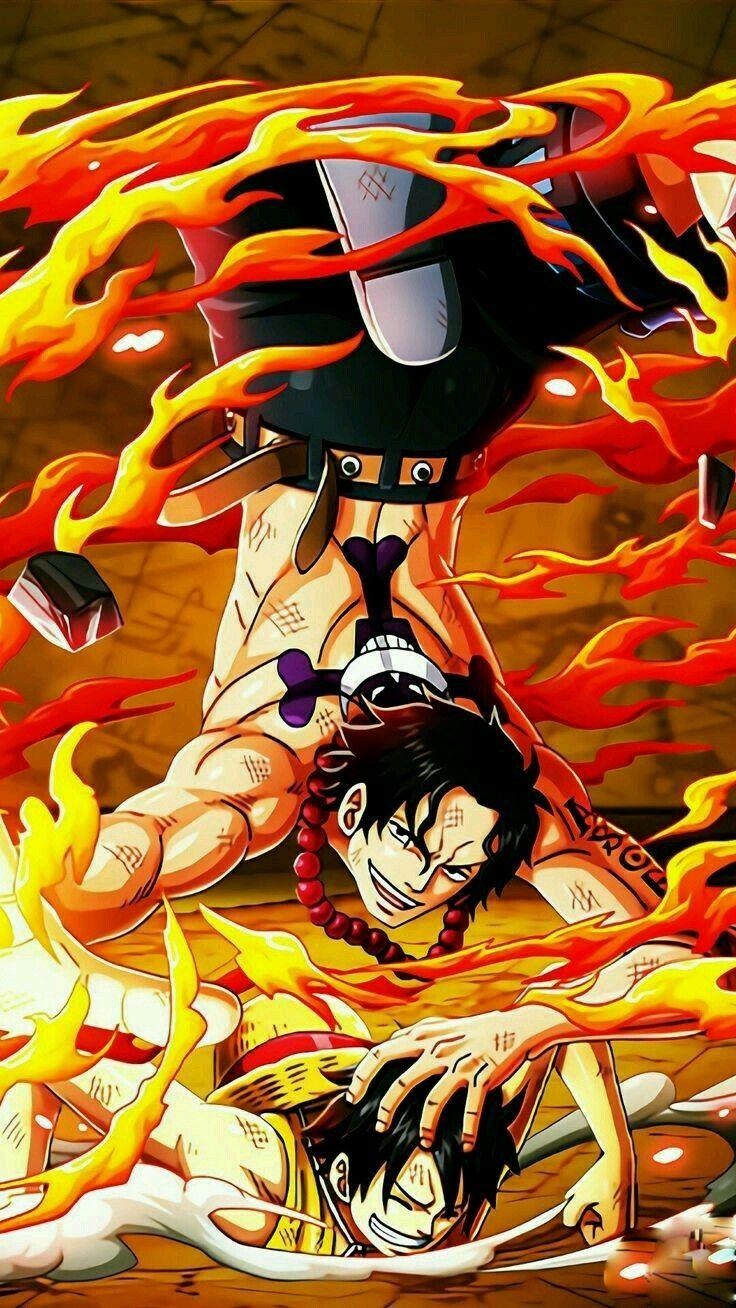 Pin De Khaleel J En Portgas D Ace Frases De One Piece Tatuaje De Ace Ace Puno De Fuego