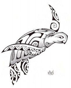 Modele Tatouage Tortue Maori Polynesien 2012 Tattoos And Piercings